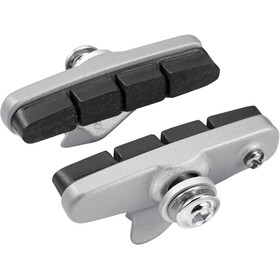 Shimano R55C4 Cartridge Brake Shoes for Shimano 105, silver